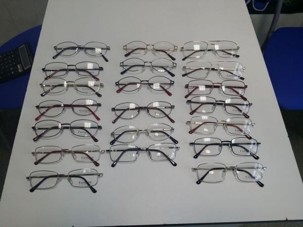 Optyk Kucharski, oprawki metalowe, okulary